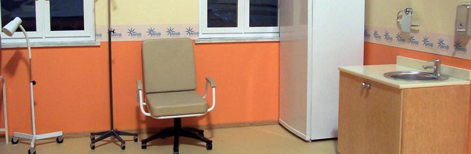 Aygaz Aşı Odası Mimari Tefriş Maketi