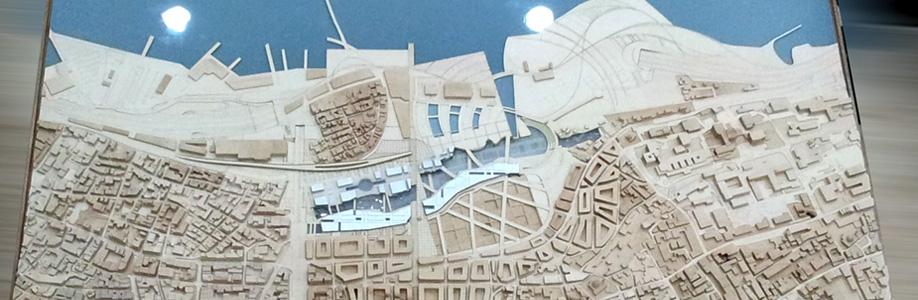 Eisenman Aytaç Arkeopark Mimari Yarışma Projesi Maketi